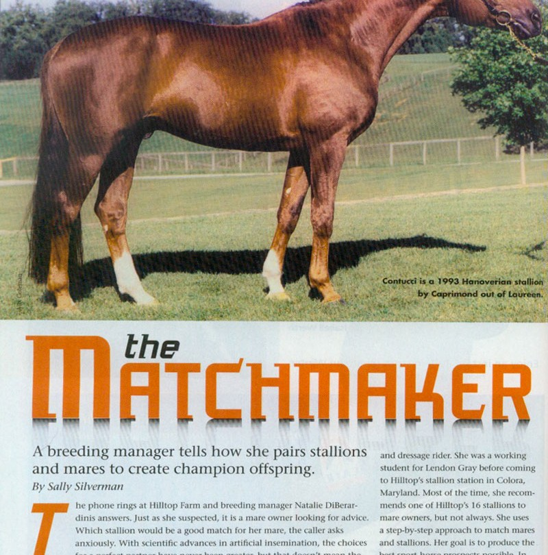 The Matchmaker – A Breeding Manager Tells How She Pairs stallions and Mares to Create Champion Offspring